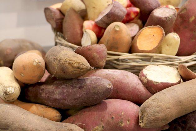 Unterschiedliche Kartoffelsorten