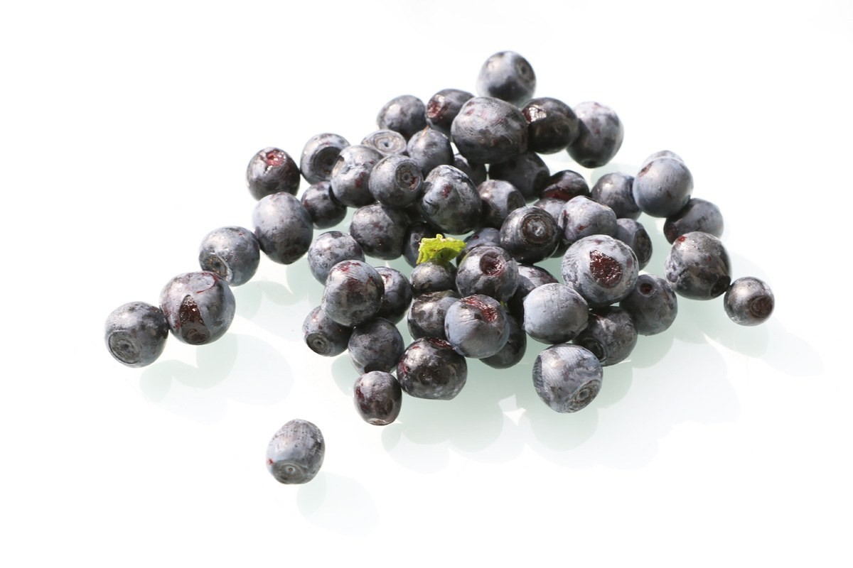 Blueberries with aromatic fruity taste