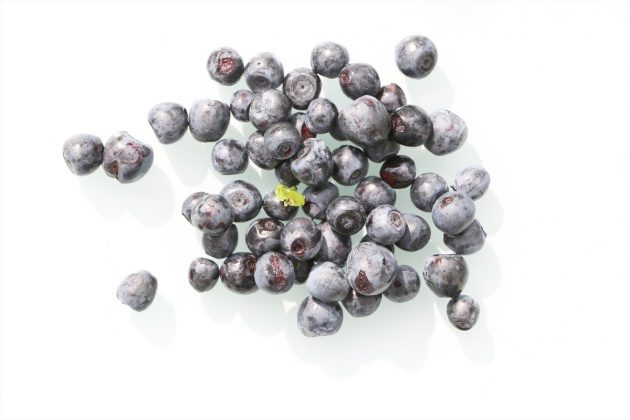 Blueberries, fruity and juicy